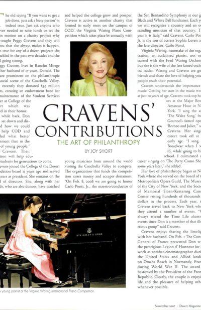 2007 Desert Magazine