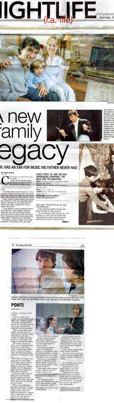 2009 LA Daily News
