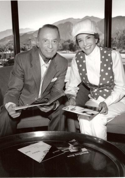 Jerry Benston and Virginia Waring