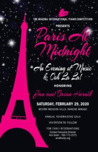 Paris At Midnight – An Evening of Music & Ooh La La! Gala